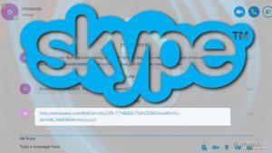 恶意链接意味着另一场 Skype 病毒的爆发