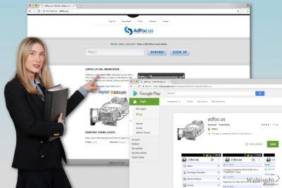 Adfoc.us 病毒的图像
