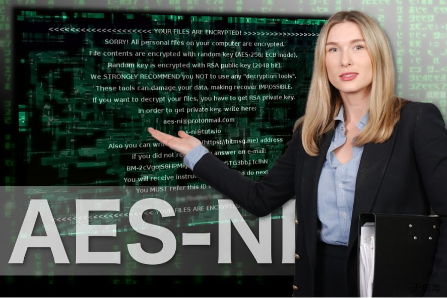AES-NI 勒索软件的图像