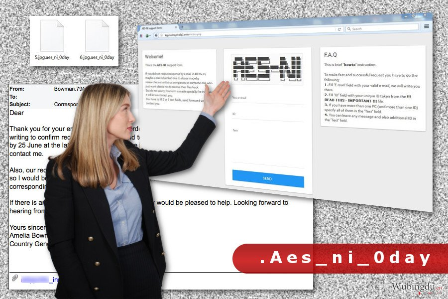.Aes_ni_0day 文件扩展病毒的图像