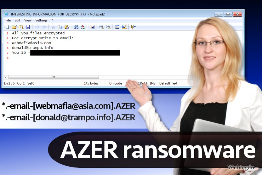 Azer 恶意软件(Cryptomix 版本)