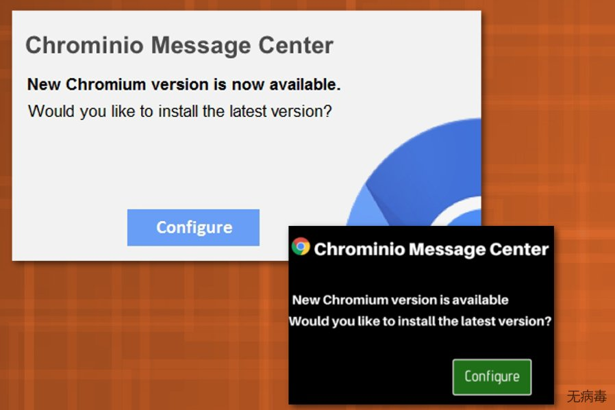 Chrominio Message Center 病毒