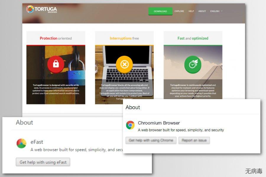 Chromium 病毒虚假浏览器