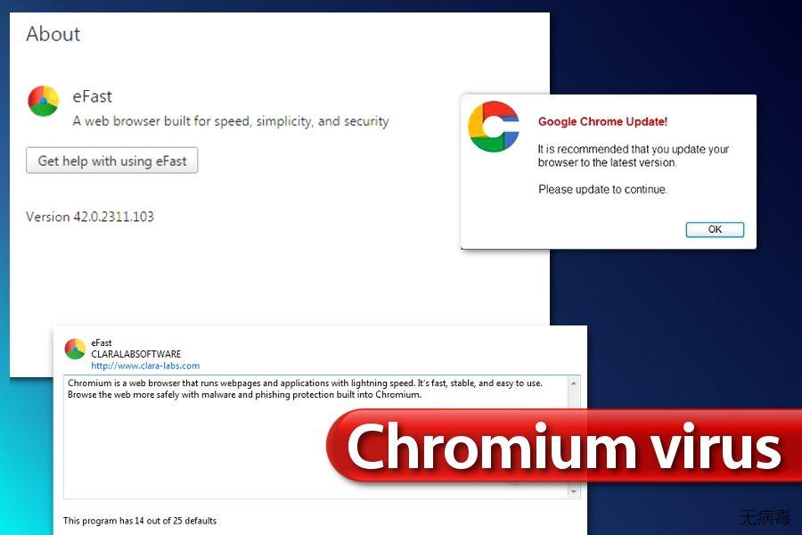 Chromium 病毒