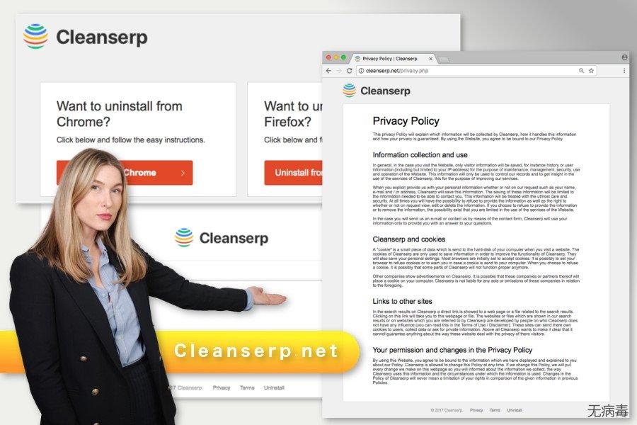 Cleanserp.net 病毒的图解