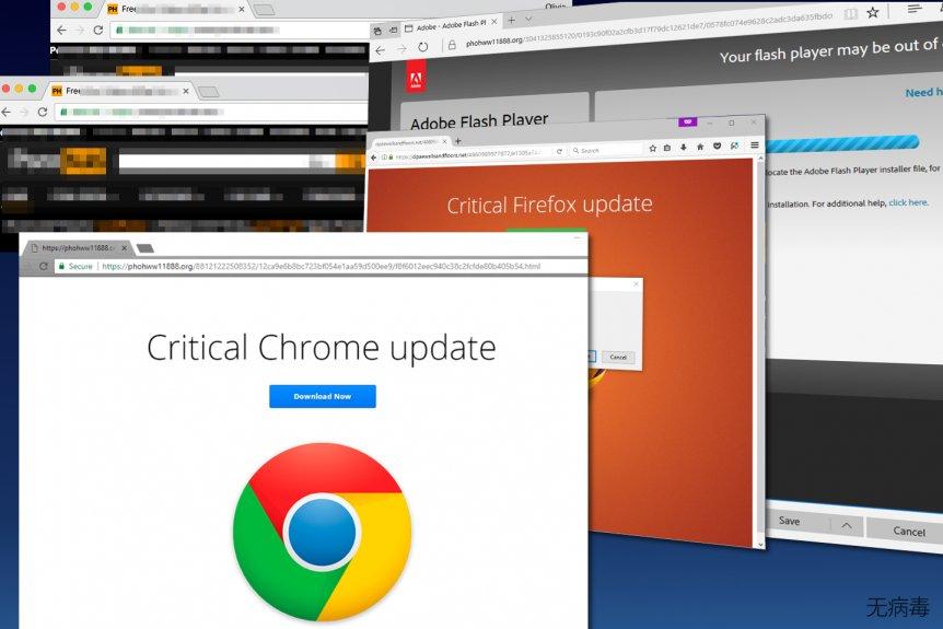 Critical Chrome Update 恶意软件