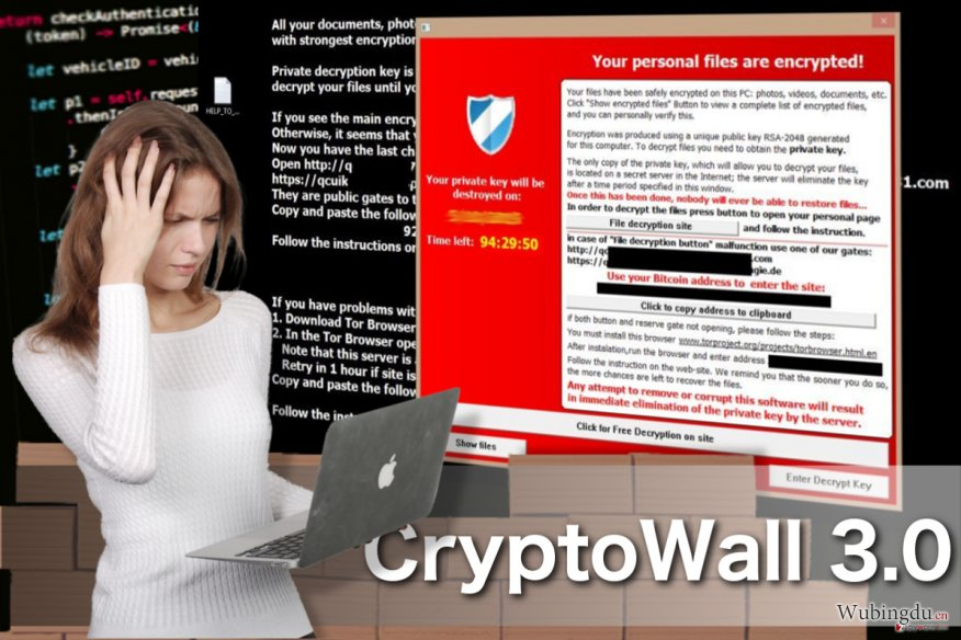 CryptoWall 3.0 virus