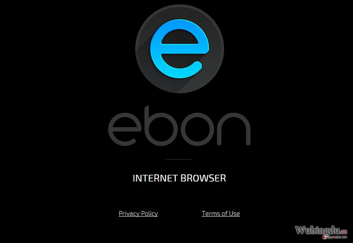 Ebon Browser adware