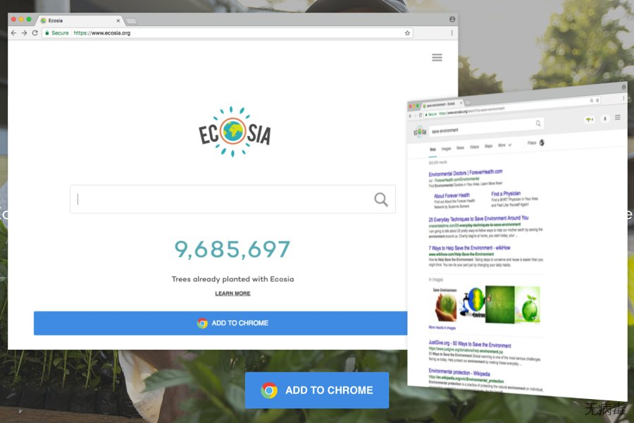 The example of Ecosia.org
