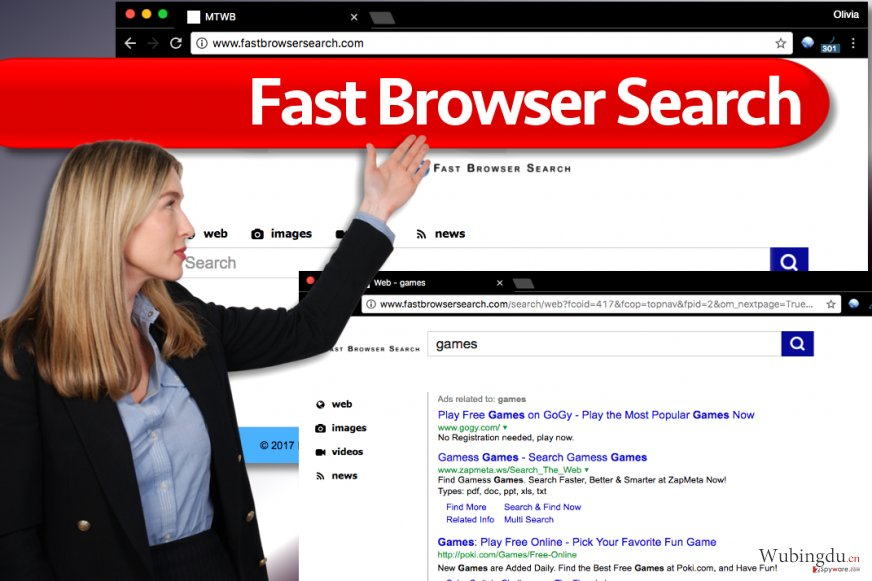 Fast Browser Search 病毒·