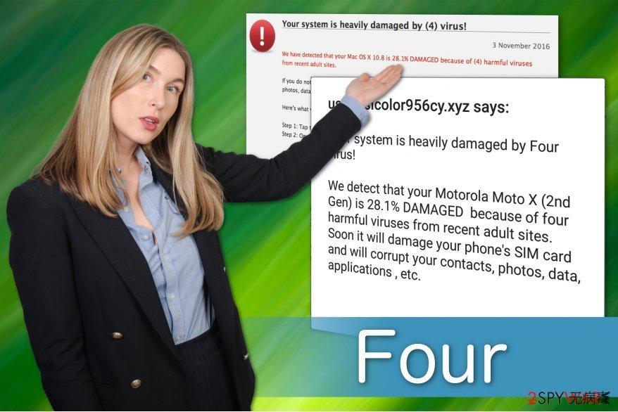 Four 病毒