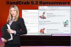 GandCrab 5.2 勒索软件