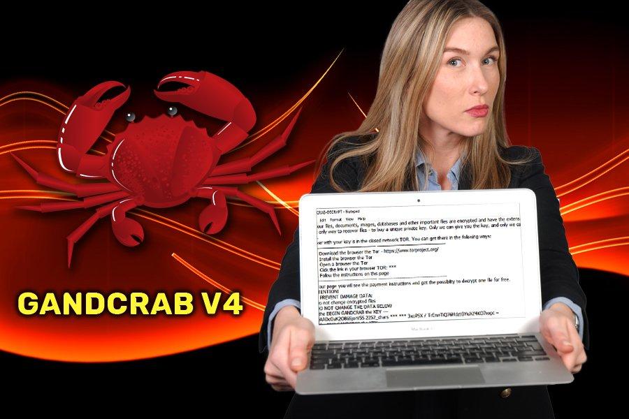 GandCrab v4 勒索软件