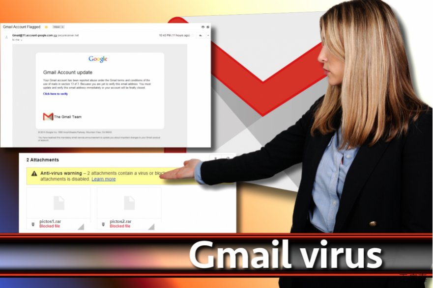 Gmail 病毒截图