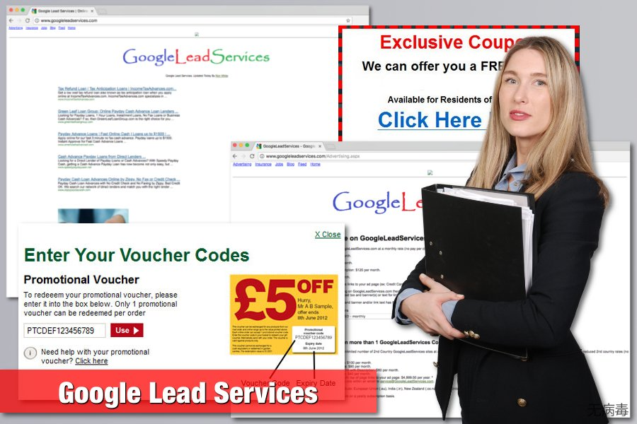 Google Lead Services 病毒的图片