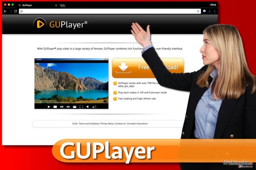 GUPlayer 广告软件