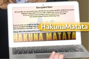 HakunaMatata 勒索软件病毒
