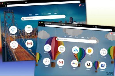 Handy-Tab.com 搜索网站的不同设计