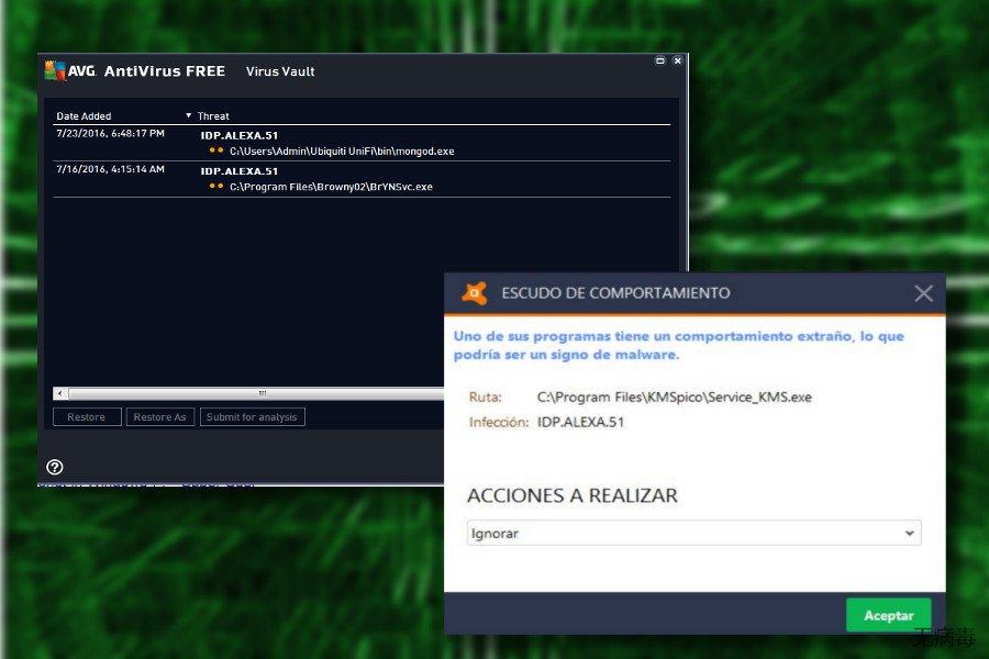 Idp.alexa.51 AVG 检测名称