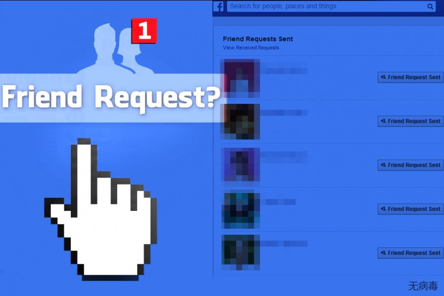 Facebook Friend Request virus sends friend requests to strangers