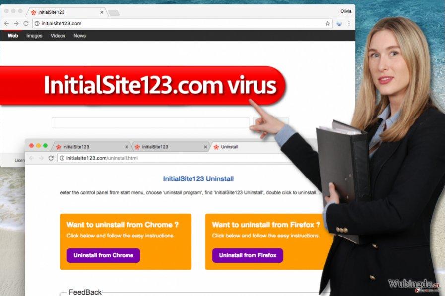 InitialSite123.com 病毒