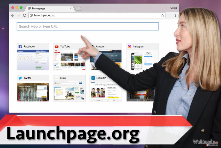 Launchpage.org virus 病毒