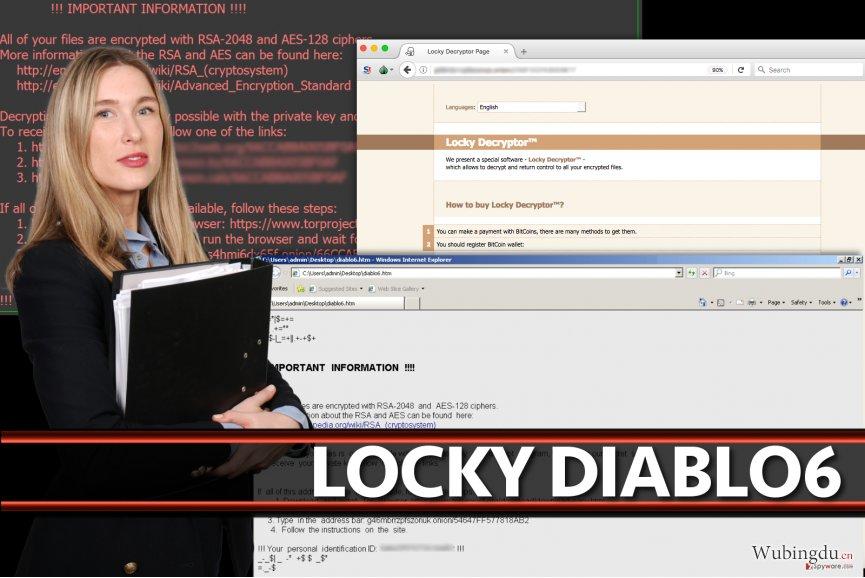 Locky Diablo6 病毒