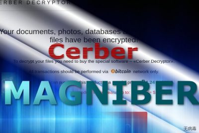 Magniber 病毒付款网站