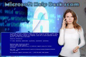 Microsoft Help Desk 技术支援诈骗