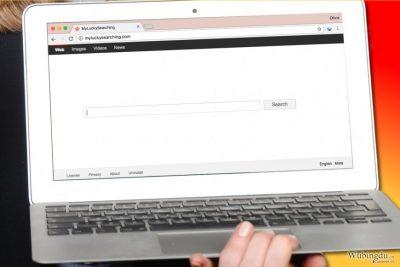计算机上的 MyLuckySearching.com 病毒