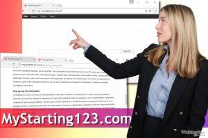 Mystarting123.com 病毒