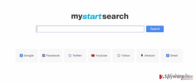Mystartsearch virus