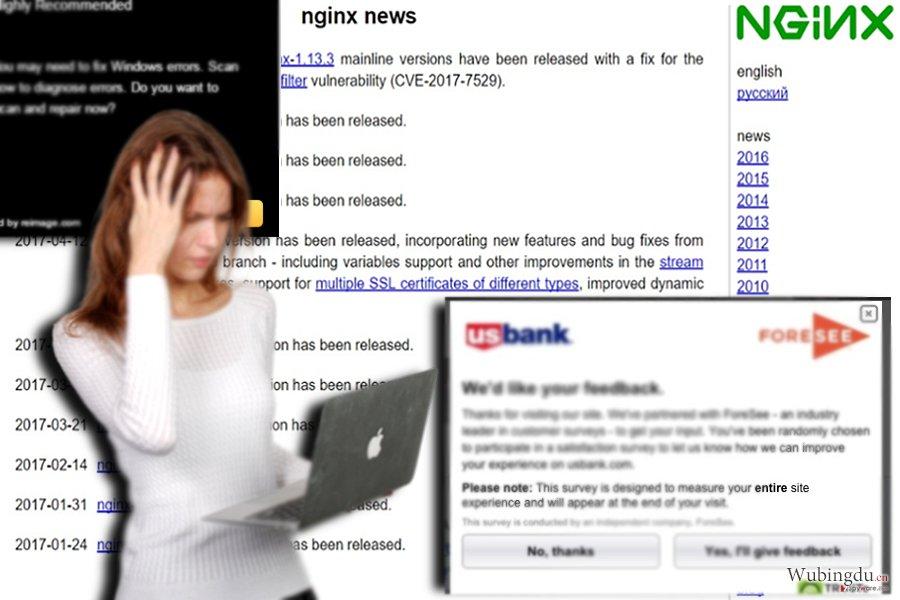 联盟网站的例子——nginx.org