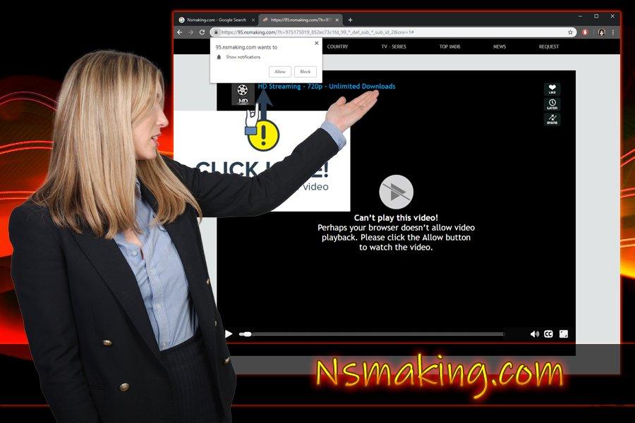 Nsmaking.com 推送通知病毒