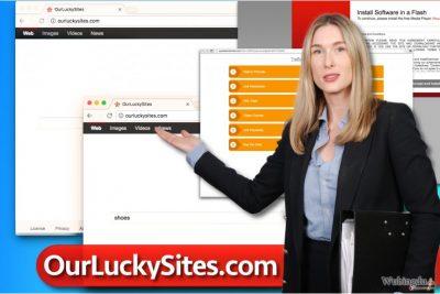 Ourluckysites.com 病毒