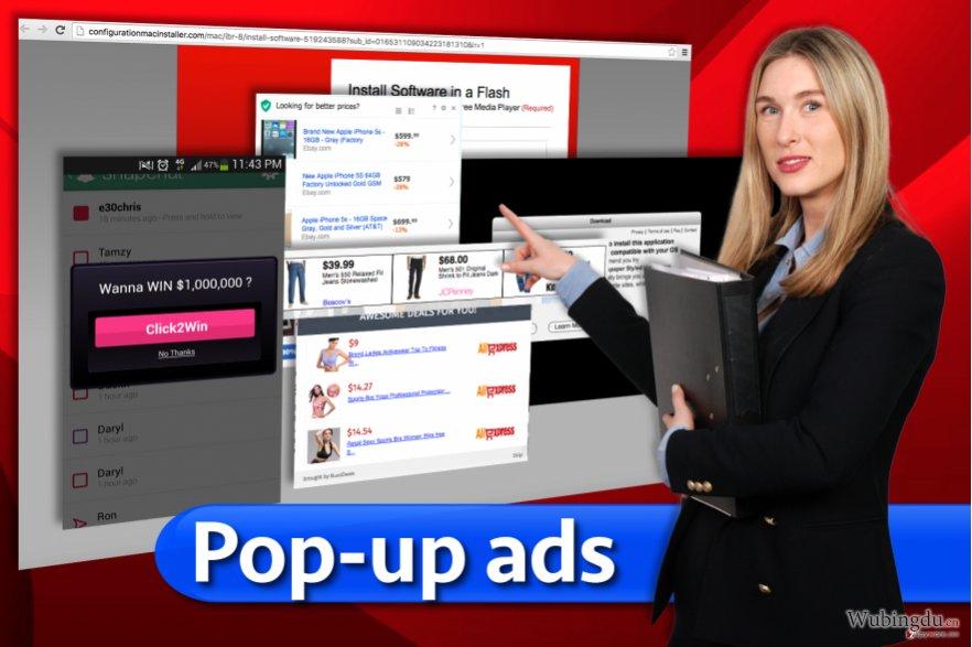 Pop-up 广告