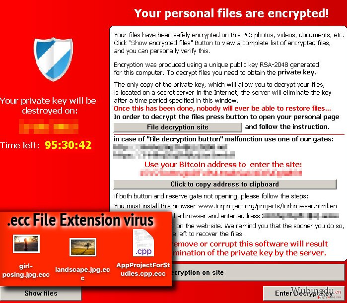 .ecc File Extension malware