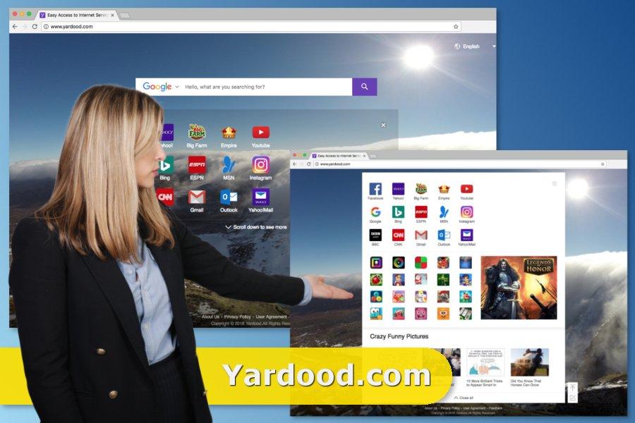Yardood.com virus