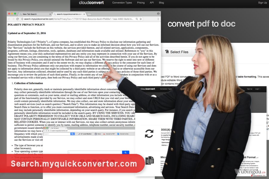 Search.myquickconverter.com  病毒的图像