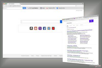 Search.myquickconverter.com 搜索引擎的例子