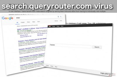 Search.queryrouter.com 浏览器劫持者的图像