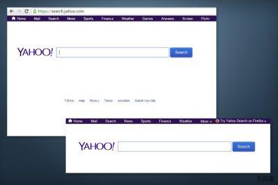 search.yahoo.com redirect