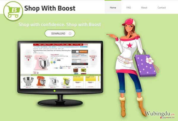 Shop with Boost 病毒