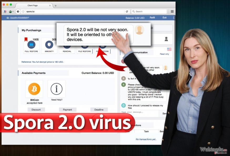 Spora 2.0 病毒