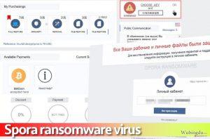 Spora 勒索软件病毒