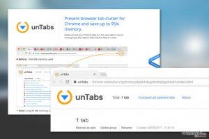unTabs extension 病毒