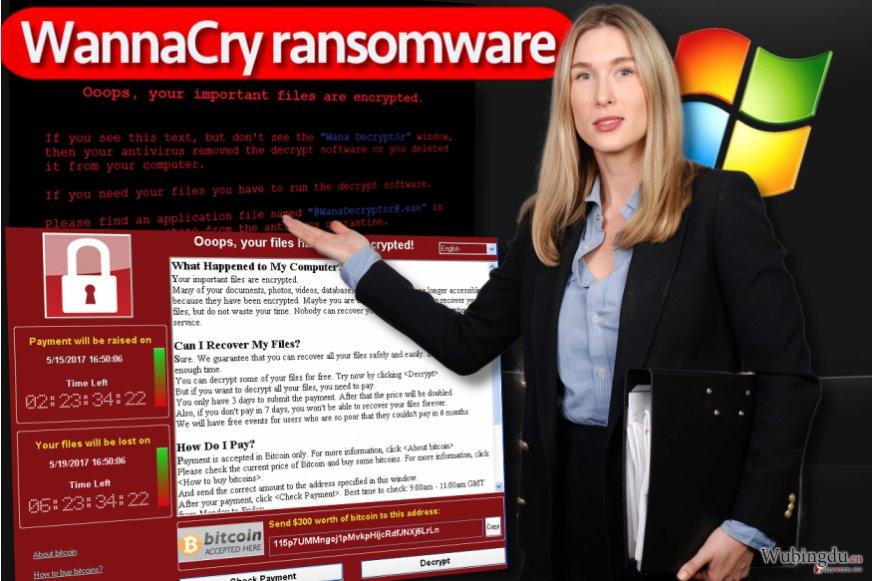 WannaCry 勒索软件病毒