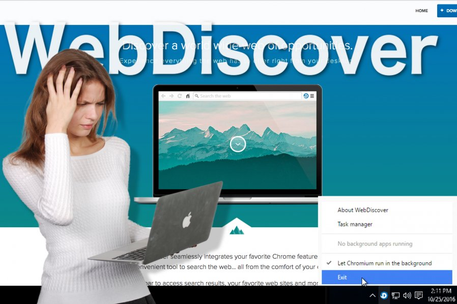 WebDiscover Browser 图像