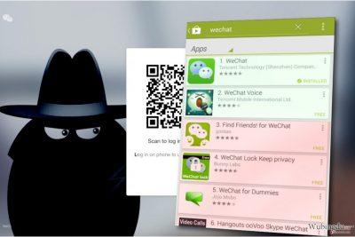 WeChat 病毒