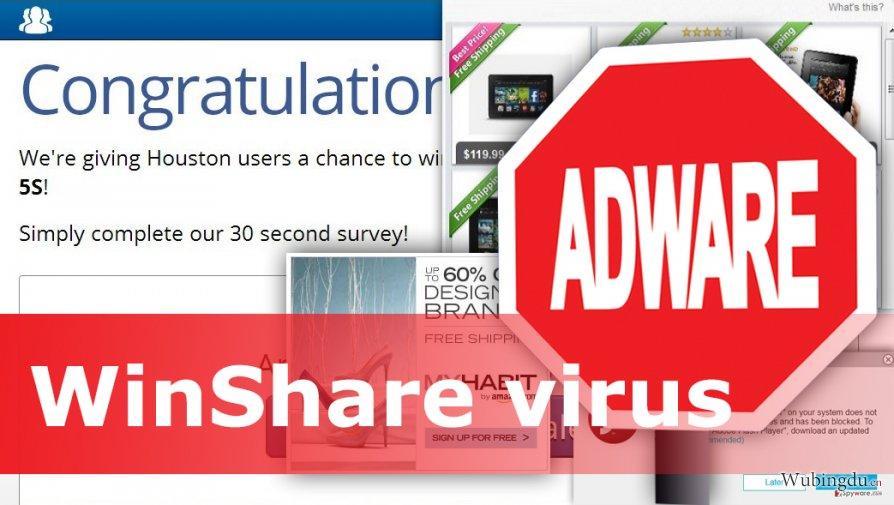 Example of WinShare virus
